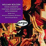 Sergiu Luca Violin Concerto in D Major/Fantasia Concertante/Symphony No.5