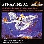 Gennady Rozhdestvensky The Firebird Suite/The Rite Of Spring/Pátrouchka