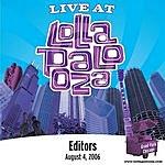 Editors Live At Lollapalooza: Editors - August 4, 2006