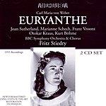 Dame Joan Sutherland Euryanthe (Opera In Three Acts)