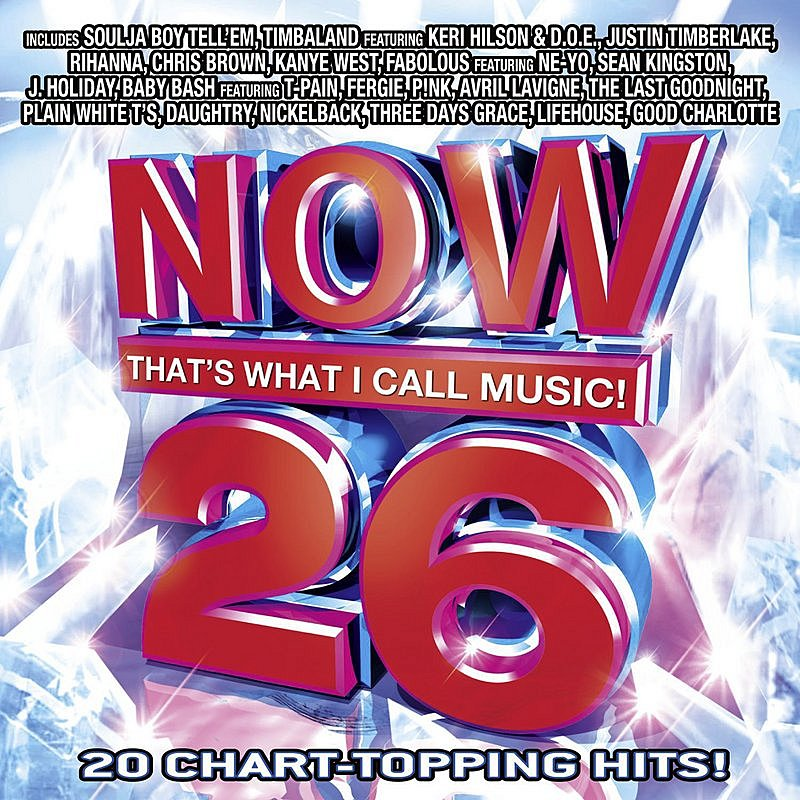 Cover Art: Now That's What I Call Music! 26