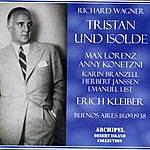 Erich Kleiber Tristan Und Isolde (Opera In 3 Acts)