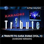 Sara Evans Karaoke Tribute: A Tribute To Sara Evans, Vol.1