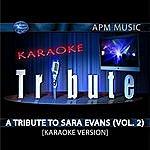 Sara Evans Karaoke Tribute: A Tribute To Sara Evans, Vol.2