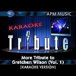 Gretchen Wilson Karaoke Tribute: More Tribute To Gretchen Wilson, Vol.1