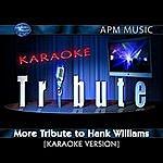 Hank Williams, Jr. Karaoke Tribute: More Tribute To Hank Williams