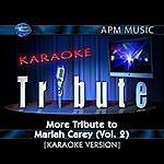 Mariah Carey Karaoke Tribute: More Tribute To Mariah Carey, Vol.2