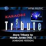 Norah Jones Karaoke Tribute: More Tribute To Norah Jones, Vol.1