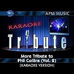 Phil Collins Karaoke Tribute: More Tribute To Phil Collins, Vol.2
