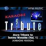 Tammy Wynette Karaoke Tribute: More Tribute To Tammy Wynette, Vol.1 (Single)