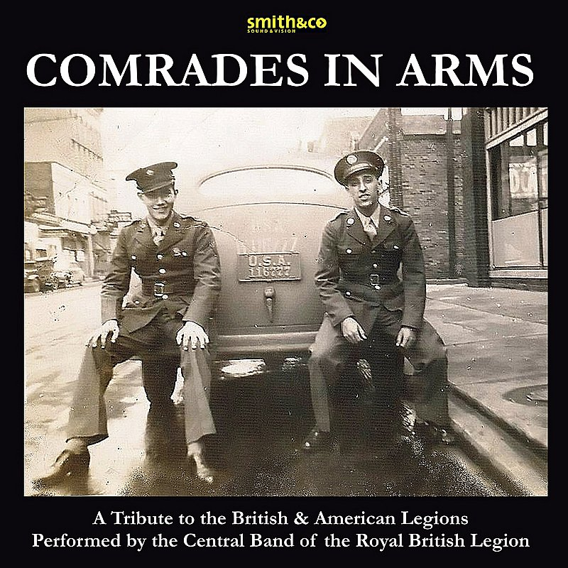 Cover Art: Comrades In Arms