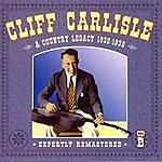 Cliff Carlisle A Country Legacy 1930-1939: CD B