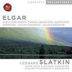 Leonard Slatkin The 2 Symphonies/Enigma Variations/Overtures/Serenade/Violin Concerto/Cello Concerto