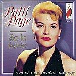 Patti Page So In Love: Original Recordings, 1947-52