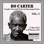 Bo Carter Bo Carter: Complete Recorded Works In Chronological Order, Vol.3 (1934-1936)