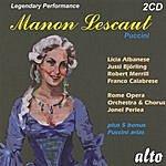 Licia Albanese Manon Lescaut (Opera In Four Acts)