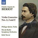 Philippe Quint Violin Concertos Nos. 2, 3 & 5