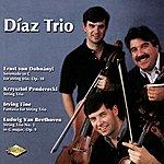 Diaz DOHNANYI / PENDERECKI / FINE / BEETHOVEN: String Trios