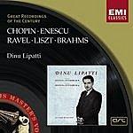 Dinu Lipatti Dinu Lipatti Plays Chopin, Enescu, Ravel, Liszt & Brahms