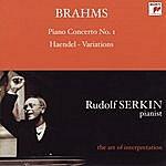 Johannes Brahms Piano Concerto No.1/Handel Variations