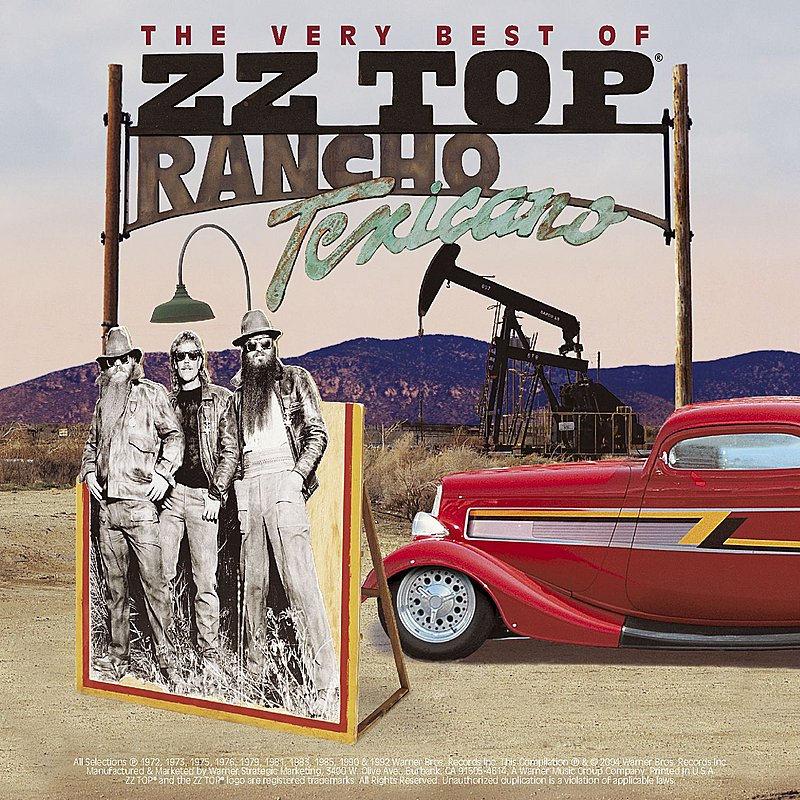Cover Art: Rancho Texicano: The Very Best Of ZZ Top