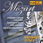 Ferdinand Leitner Symphony in C Major, K.200/Symphony in D Major, K.384/Der Schauspieldirektor, K.486