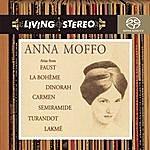 Anna Moffo Arias From Faust, La Bohème, Dinorah, Carmen, Semiramide, Turandot, Lakmé