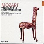 Régis Pasquier Mozart: Violinkonzerte 1-5/Konzertante Symphonie