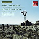 """Los Angeles Chamber Orchestra Virgil Thomson: The Plow That Broke The Plains/Virgil Thomson: The River/Howard Hanson: Symphony No.2 """"Romantic"""""""