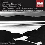 Jack Brymer Mozart: Eine Kleine Nachtmusik/Clarinet Concerto in A/Horn Concerto No.4/Serenata Notturna
