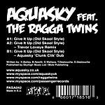 Aquasky Give It Up (Old Skool Style) (4-Track Maxi-Single)