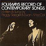 Ewan MacColl Folkways Record Of Contemporary Songs