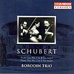Borodin Schubert: Piano Trio No.1 in B-Flat Major/Piano Trio No.2 in E-Flat Major