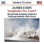 Slovak Radio Symphony Orchestra James Cohn: Symphonies Nos.2 & 7