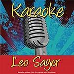 Leo Sayer Karaoke: Leo Sayer