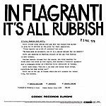 In Flagranti It's All Rubbish (3-Track Maxi-Single)