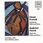 Emil Klein Franck: Sonata For Cello & Piano/Fauré: Music For Cello & Piano