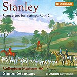 Simon Standage Stanley: Concertos For Strings, Op.2