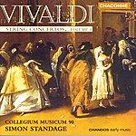 Simon Standage Vivaldi: String Concertos, Vol.3