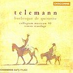 Simon Standage Telemann: Burlesque De Quixotte
