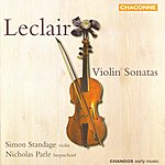 Simon Standage Leclair: Violin Sonatas
