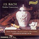 Simon Standage Johann Sebastian Bach: Violin Concertos, BWV 1041-1043/Concerto For 3 Violins, BWV 1064