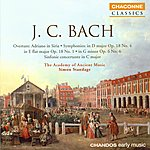 Simon Standage Bach, J.C.: Adriano In Siria, Overture/Symphonies/Sinfonie Concertante