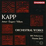 Neeme Järvi Artur Kapp/Eugene Kapp/Villem Kapp: Orchestral Works