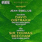 David Oistrakh Sibelius: Violin Concerto/Tapiola/Symphony No.7
