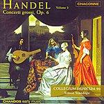 Simon Standage George Frideric Handel: Concerto Grossos, Op.6, Vol.2