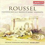 Neeme Järvi Roussel: Symphonies Nos.3 & 4/Bacchus Et Ariane/Sinfonietta