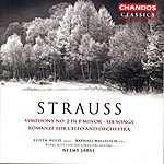 Neeme Järvi Strauss: Symphony No.2/Six Songs/Romanze For Cello And Orchestra