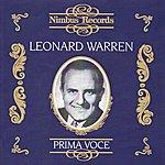 Leonard Warren Leonard Warren: Prima Voce