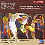 Neeme Järvi American Series, Vol.4 - Barber: Symphony No.2/Adagio For Strings/Bristow: Symphony in F Sharp Minor